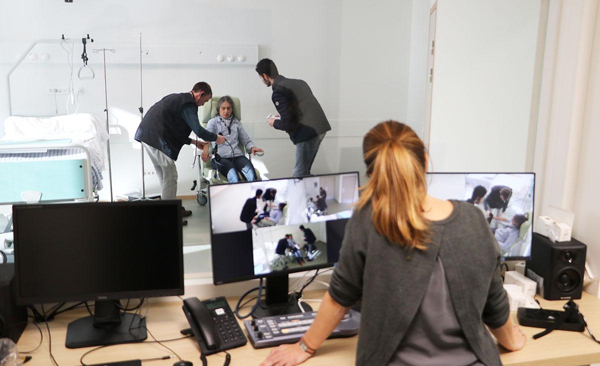 Simulation-ambulancier