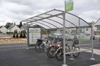 Parc à vélo - St Brieuc