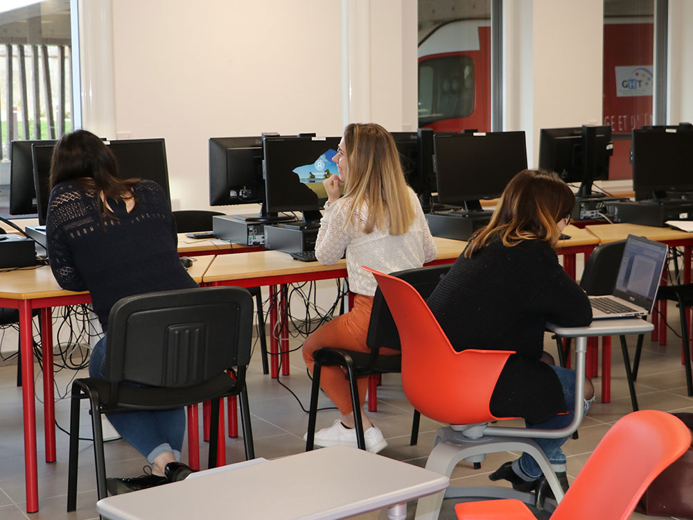 Salle informatique - IFPS St Brieuc